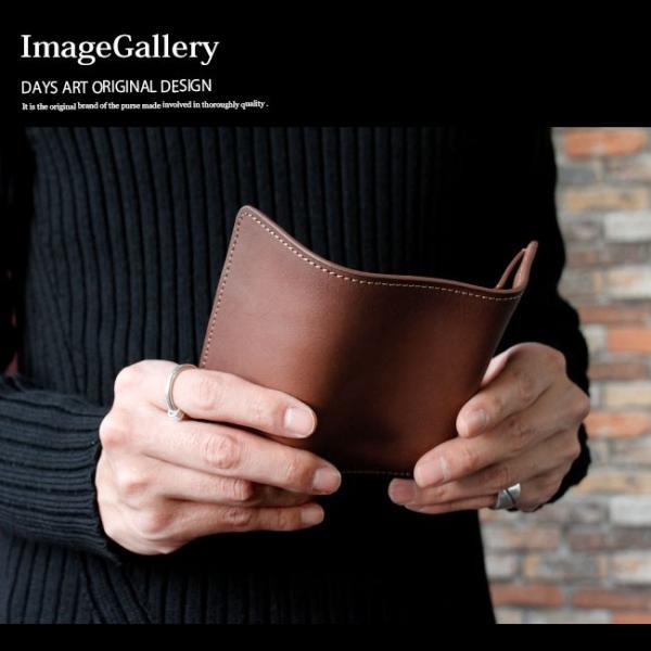 キーケース レザー 本革 6連キーケース 三つ折り シンプル カードケース 定期入れ 札入れ 焦がし染色|asianarts|11