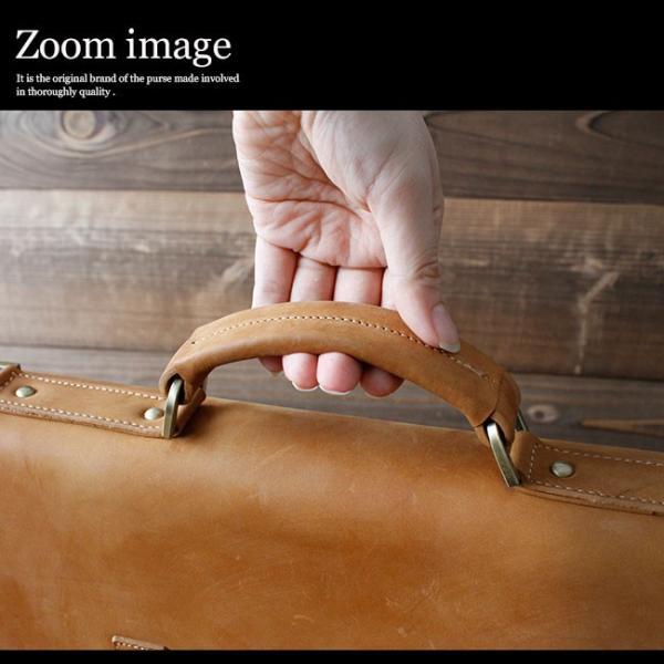 ショルダーバッグ レザー メンズ 本革 ヌバックレザー ショルダーベルト付 クラシックデザイン ハンドメイド ダレスバッグ|asianarts|04