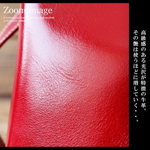 ショルダーバッグ レザー レディース ユニセックス メンズ 本革 光沢レザー エナメル加工 ハンドバッグ|asianarts|03