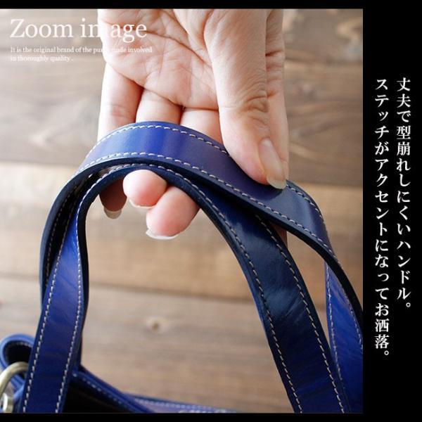 ショルダーバッグ レザー レディース ユニセックス メンズ 本革 光沢レザー エナメル加工 ハンドバッグ|asianarts|04