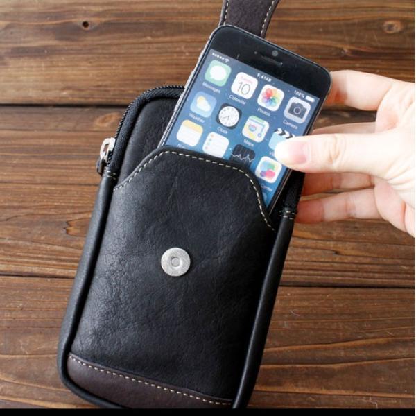 スマホケース iPhoneケース レザー 本革 シガレットケース 電子タバコ 加熱式タバコ 小物入れ カーフスキン カラビナ ハンドメイド|asianarts|07