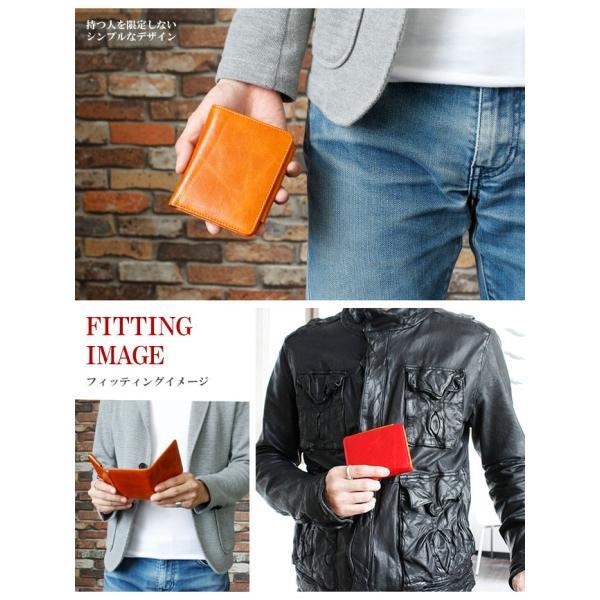 財布 二つ折り財布 メンズ レディース 本革 レザー ショートウォレット コンパクトウォレット バロンレザー|asianarts|12