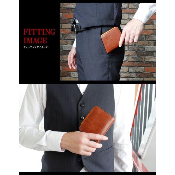 財布 二つ折り財布 メンズ レディース 本革 レザー ショートウォレット コンパクトウォレット バロンレザー|asianarts|13