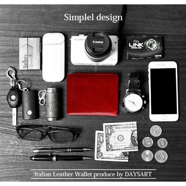 財布 二つ折り財布 メンズ レディース 本革 レザー ショートウォレット コンパクトウォレット バロンレザー|asianarts|10