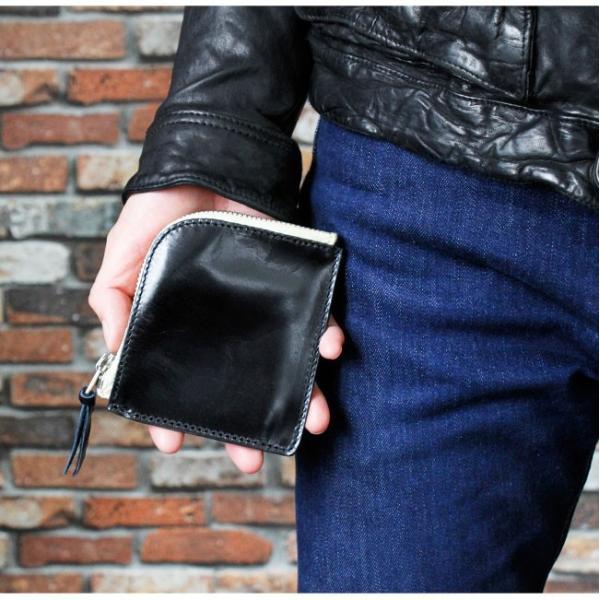 財布 ミニ財布 メンズ レディース 本革 イタリアンレザー ラウンドファスナー 小銭入れあり コンパクト スリム 小さい 薄い 機能性|asianarts|11