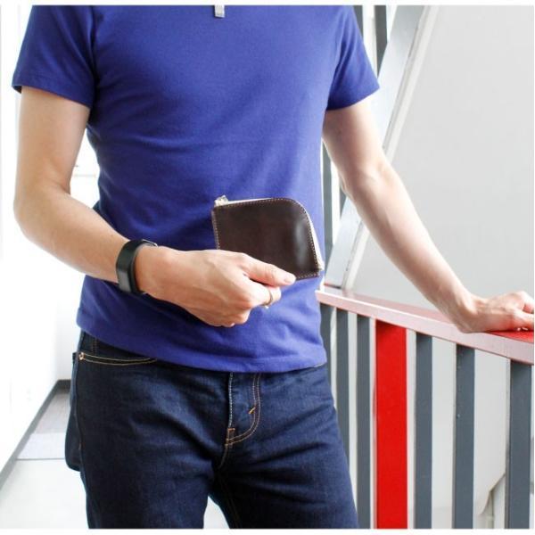 財布 ミニ財布 メンズ レディース 本革 イタリアンレザー ラウンドファスナー 小銭入れあり コンパクト スリム 小さい 薄い 機能性|asianarts|13