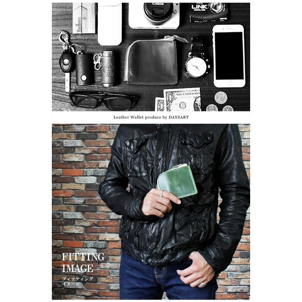 財布 ミニ財布 メンズ レディース 本革 イタリアンレザー ラウンドファスナー 小銭入れあり コンパクト スリム 小さい 薄い 機能性|asianarts|10