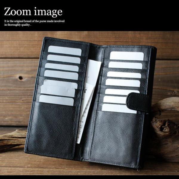 財布 長財布 メンズ レディース ユニセックス 本革 レザー 大容量 カード収納|asianarts|05