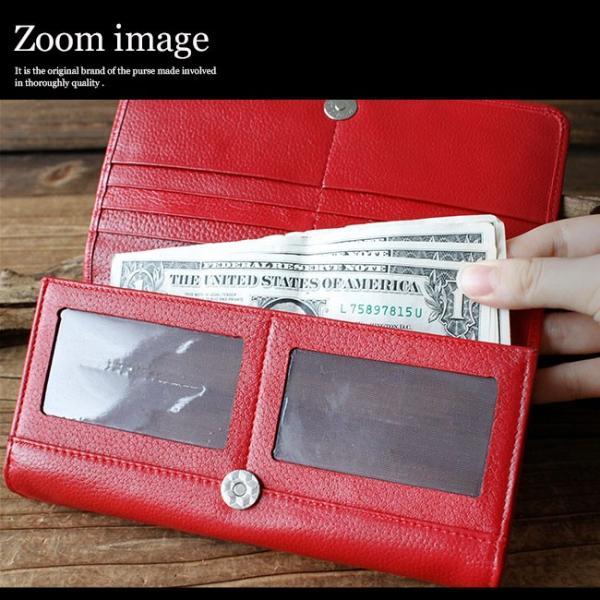 財布 長財布 メンズ レディース ユニセックス 本革 レザー 大容量 カード収納|asianarts|07