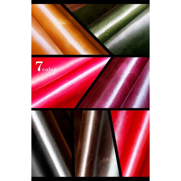 ペンケース 本革 ロール型ペンケース イタリアンレザー 三つ折り 革紐留め プルームテックケース|asianarts|09