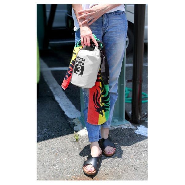 防水バッグ ドライバッグ 20L 2way ドラム型 ショルダーバッグ リュックサック 防災バッグ アウトドア|asianarts|14