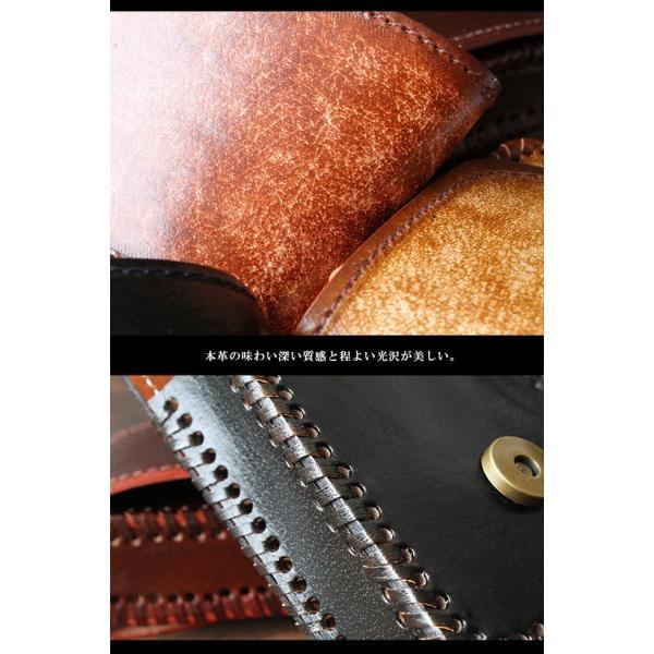 シガレットケース レザー 本革 タバコケース 硬質 アンティーク 電子タバコケース ベルトループ付き asianarts 03