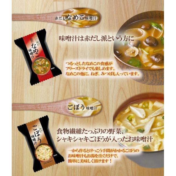 フリーズドライ 和洋中のあったかスープ&味噌汁 14種28食 フリーズドライ食品  定番の味から個性派の味のアソートセット お試し ギフト|asianlife|09