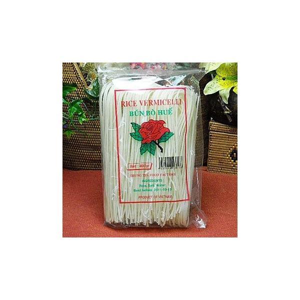 (ベトナムブン) ブン・ボー・フエ400gX5袋(ライスヌードル/グルテンフリーの麺・ベトナム料理に)|asianlife