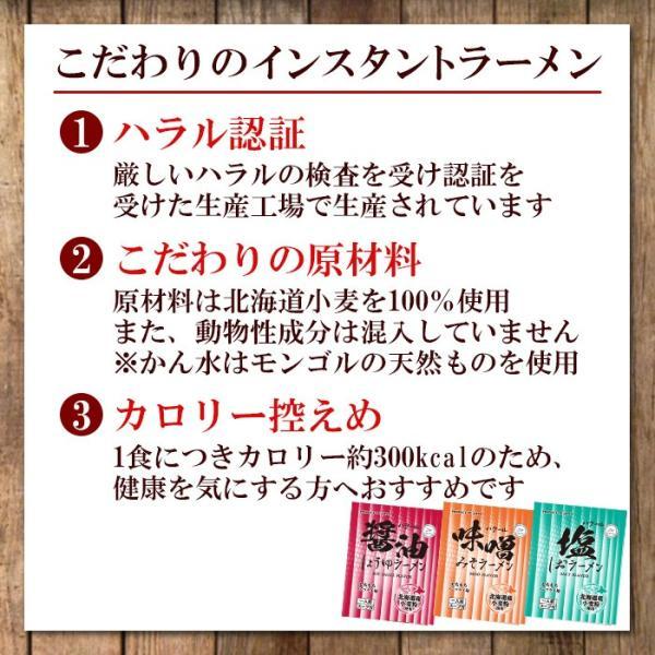 ハラル認定 ノンフライ麺インスタントラーメン 3種15食詰め合わせセット 国産  HALAL RAMEN|asianlife|02
