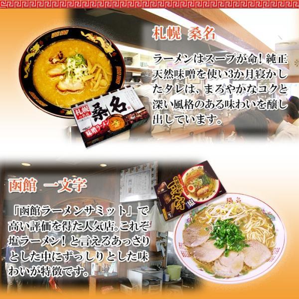 ご当地ラーメン 激戦区東北・北海道の厳選 6店舗12食セット お試しセット(麺・スープ)お取り寄せ|asianlife|03