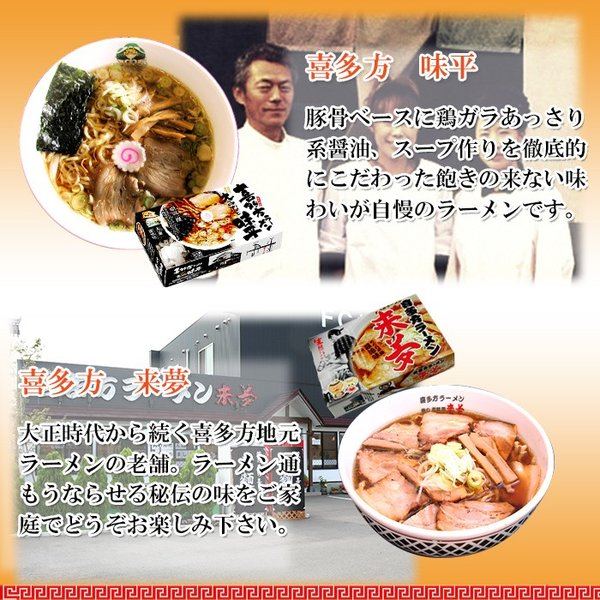 ご当地ラーメン 激戦区東北・北海道の厳選 6店舗12食セット お試しセット(麺・スープ)お取り寄せ|asianlife|05
