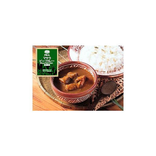 MCC レトルトカレー マサラカレー (ビーフカレー 辛口) 12袋 業務用