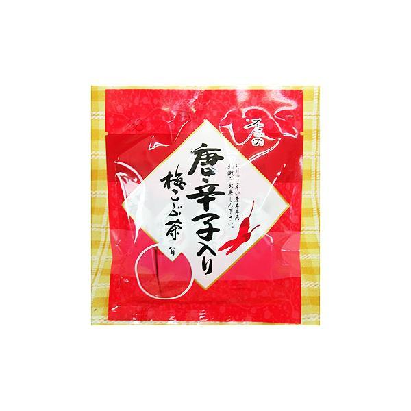 (限定) 不二の唐辛子入り梅こぶ茶  (スティック2gX10包)X5袋セット|asianlife