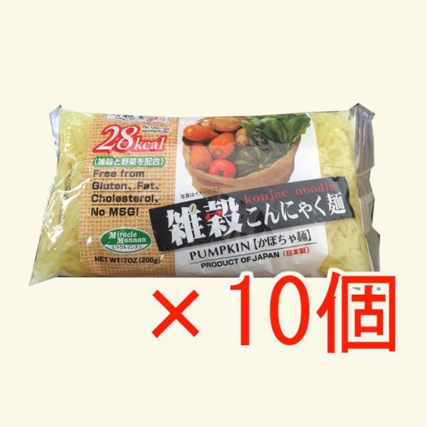 雑穀こんにゃく麺(かぼちゃ麺)X10個|asianlife|06