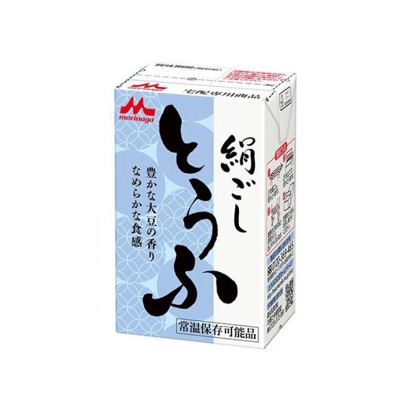 常温長期保存 絹ごし豆腐290g 森永とうふ 丸大豆 ロングライフ豆腐|asianlife|04
