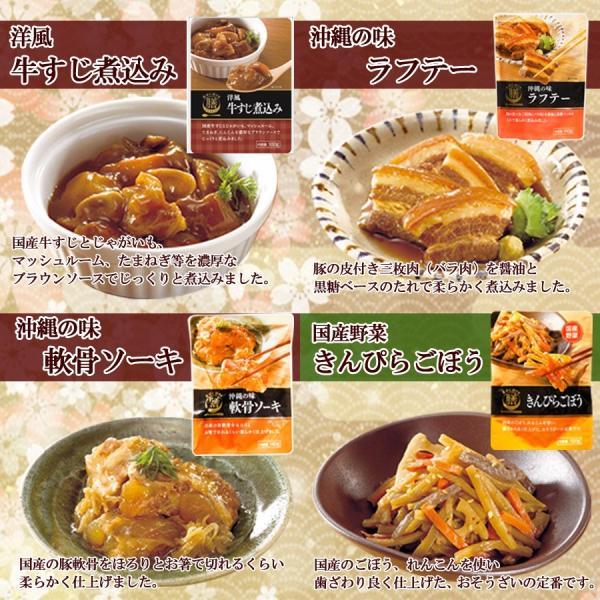 レトルト惣菜 膳おかず詰め合わせ13種セット レトルト食品 長期常温保存食 asianlife 05