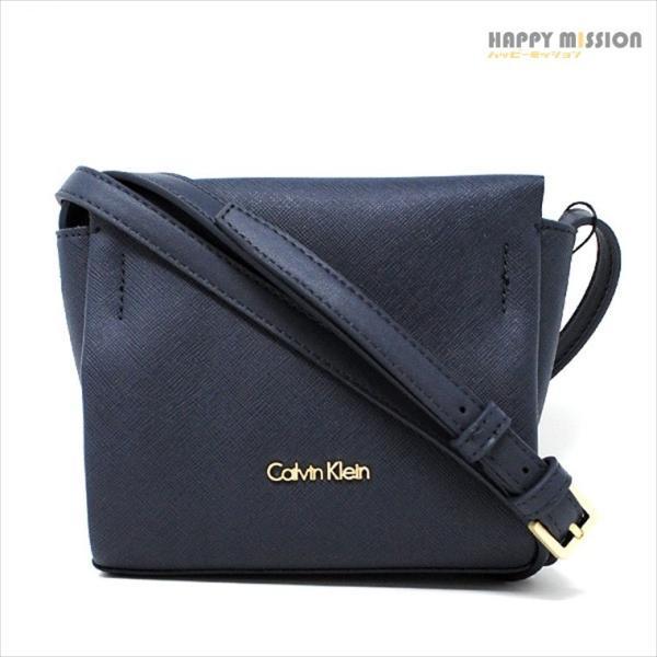 カルバンクライン Calvin Klein レディース ポシェット ショルダーバッグ K60K602460 448 ネイビー|asiantokyo-y|01