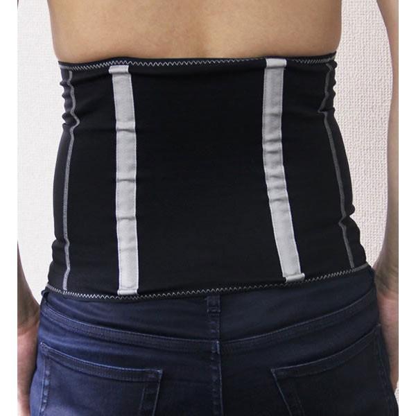 加圧腹巻 メンズ コランコラン ボディシェイプサポート 着圧 腹筋 腹巻き|asiantyphooon|03
