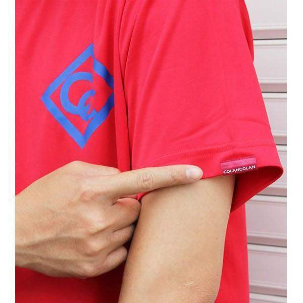 吸汗速乾 ドライTシャツ スポーツ メンズ おしゃれ 半袖 マイナスイオン コランコラン|asiantyphooon|11