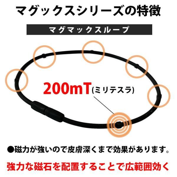 磁気ネックレス マグマックスループ 200 スポーツネックレス おしゃれ メンズ 肩こり magmax loop|asiantyphooon|12