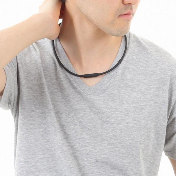 磁気ネックレス マグマックスループ 200 スポーツネックレス おしゃれ メンズ 肩こり magmax loop|asiantyphooon|18