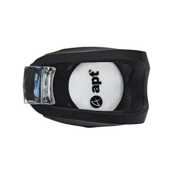 apt' シリコン サイクルライト ヘッドライト(自転車用 LED ライト ) (ブラック) 送料無料|asiapacifictrading|03