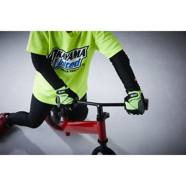 サイクルグローブ 子ども用 男の子用 女の子用 ロングフィンガー自転車用ランバイク用手袋 apt'|asiapacifictrading|09