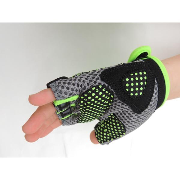 こども用サイクルグローブ ランバイクで使える 男の子 女の子用 夏用指切り自転車用手袋|asiapacifictrading|10
