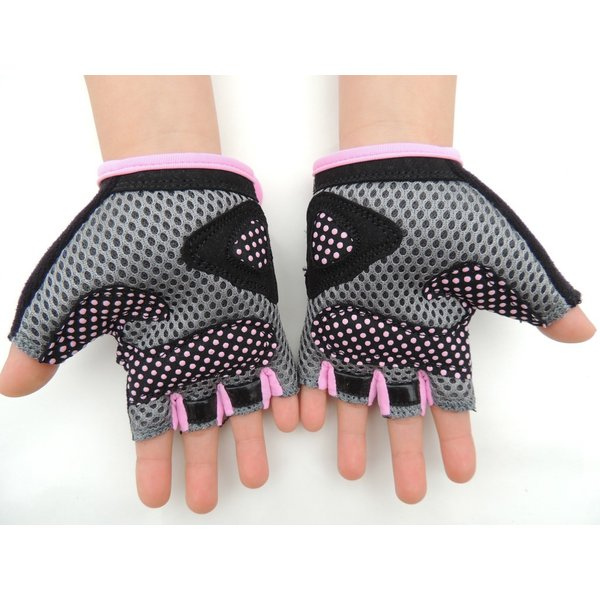 こども用サイクルグローブ ランバイクで使える 男の子 女の子用 夏用指切り自転車用手袋|asiapacifictrading|14