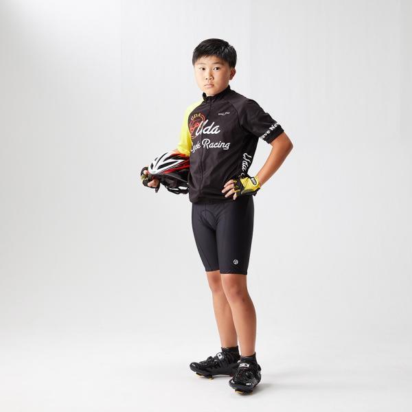 apt'(エーピーティー) レーサーパンツ ジュニア用 3Dゲルパッド ロードバイク用|asiapacifictrading