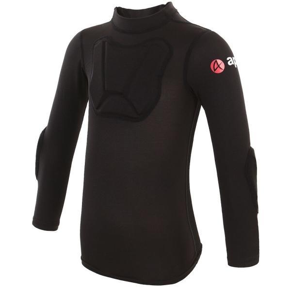 ランバイク用 パッド付きシャツ 腕カバー プロテクター付き STIN 肘当て アームカバー 胸当て apt'|asiapacifictrading