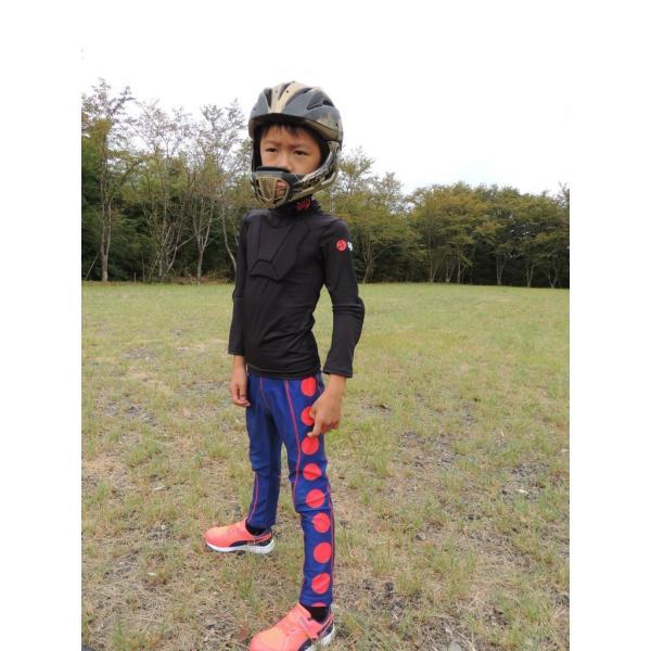 ランバイク用 パッド付きシャツ 腕カバー プロテクター付き STIN 肘当て アームカバー 胸当て apt'|asiapacifictrading|07
