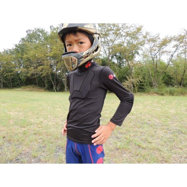 ランバイク用 パッド付きシャツ 腕カバー プロテクター付き STIN 肘当て アームカバー 胸当て apt'|asiapacifictrading|09