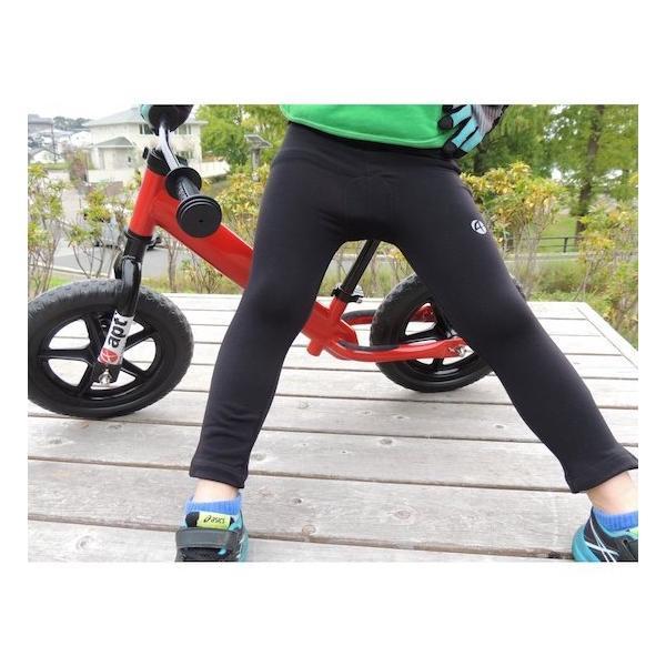 ランバイク用 暖かい裏起毛素材 パッド付きパンツ apt' バランスバイク ランバイクバイク asiapacifictrading