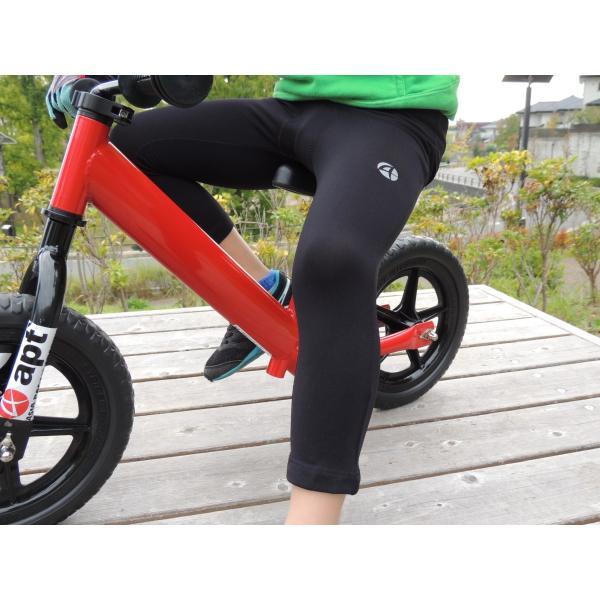 ランバイク用 暖かい裏起毛素材 パッド付きパンツ apt' バランスバイク ランバイクバイク asiapacifictrading 05