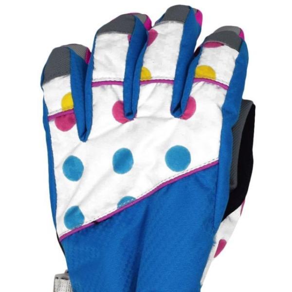スキーグローブ あったか 子供 女児 SPALDING スポルディング 手袋 asnaro 02
