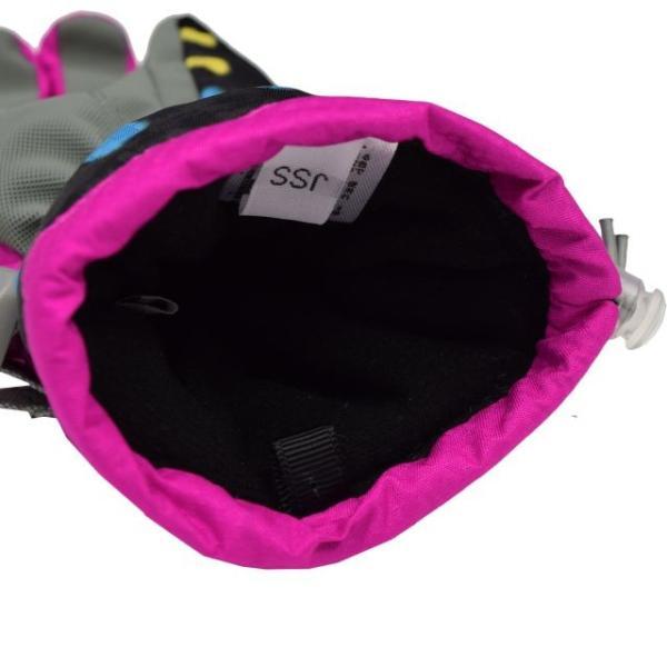 スキーグローブ あったか 子供 女児 SPALDING スポルディング 手袋 asnaro 04