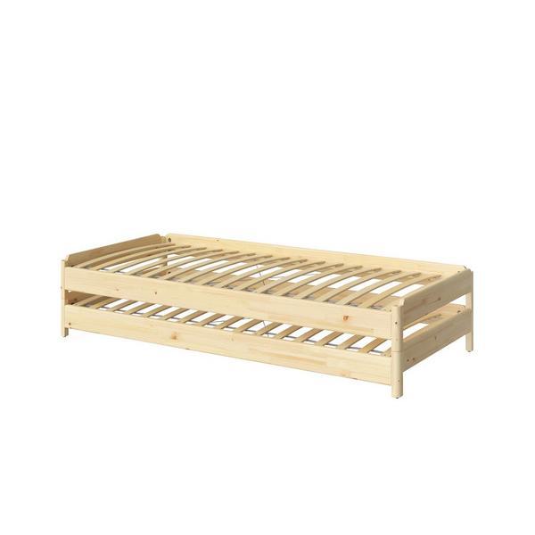 IKEA イケア ベッド UTAKER ウトーケル スタッキングベッド, パイン材 (703.604.85)