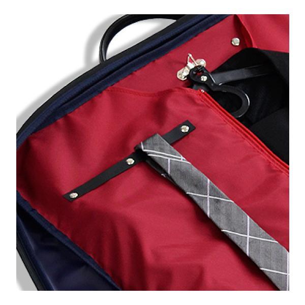 ガーメントバッグ 日本製 メンズ レディース スーツバッグ ガーメントケース ハンガー2本付き AVECALDO アベカルド AV-E109|asoboze|09