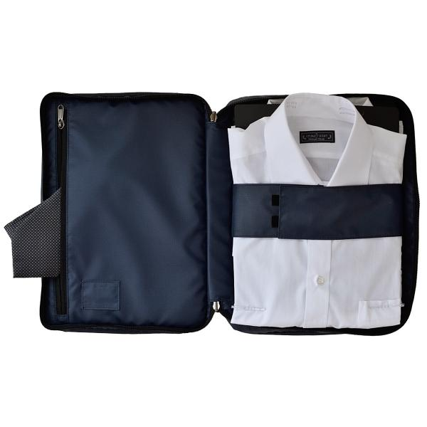バッグインバッグ メンズ ビジネス インナーバッグ  Yシャツケース ポーチ タブレットケース AV-T152 asoboze 05