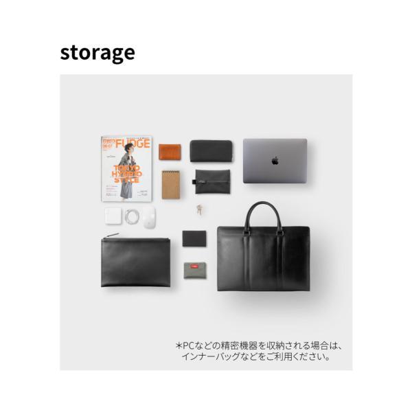 ビジネスバッグ 本革 メンズ 日本製 B4 姫路レザー 黒 グレー オーバーキップ 牛革 リントッシュ Rintosh AV-W162|asoboze|11