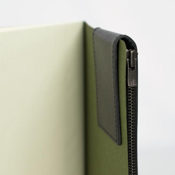 ペンケース 革 シンプル 2本差し 日本製 薄マチ スリム 革 スリムタイプ アップルペンシルケース メンズ ギフト 牛革 SK-W171|asoboze|06