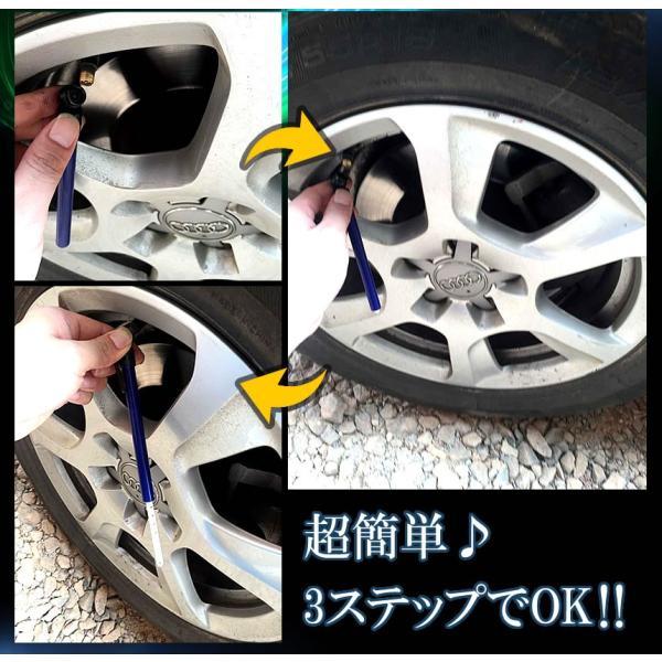 スティック型 エアゲージ タイヤ 空気圧チェッカー タイヤゲージ 簡易 計測 ET-TIREGG|aspace|03