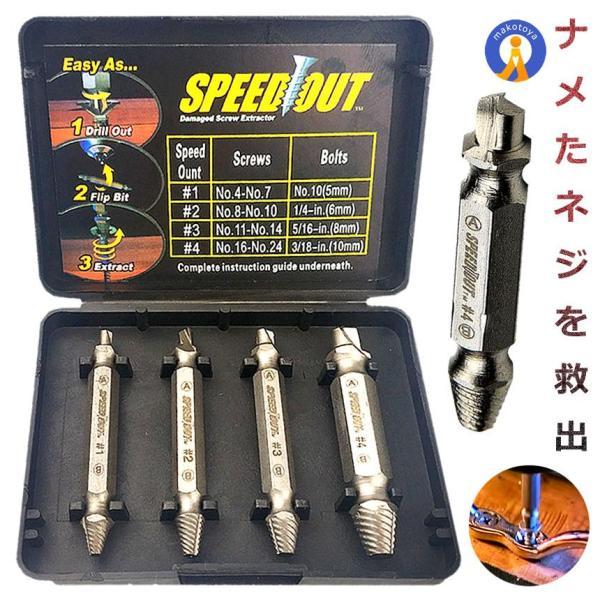 ネジ切り先生 なめたボルト 簡単 取り外す DIY 工具 家具 電子機器 ドライバー 鉄 銅 六角 便利グッズ ET-DZ-1500|aspace
